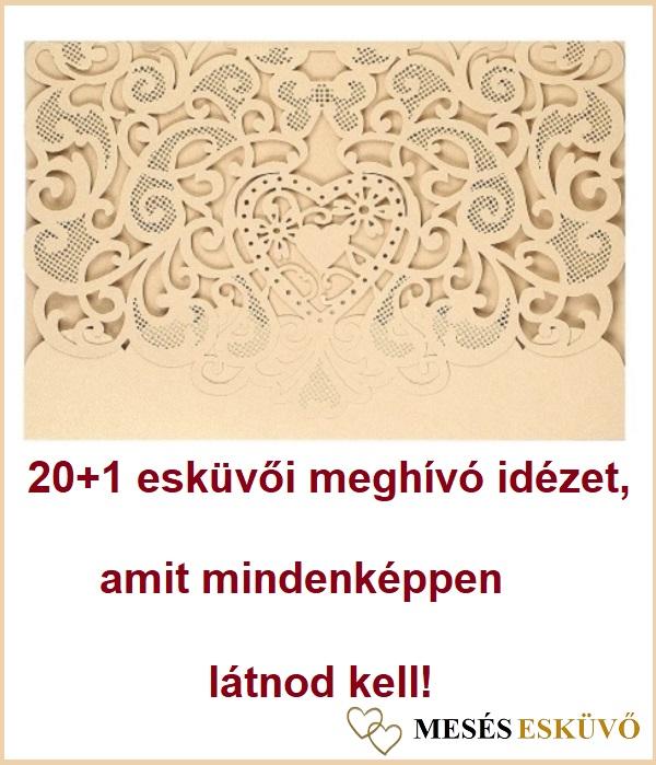 7f5768fde5 20+1 esküvői meghívó idézet, amit mindenképpen látnod kell