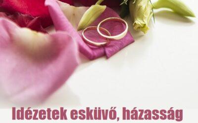 17 idézet esküvő, házasság témában
